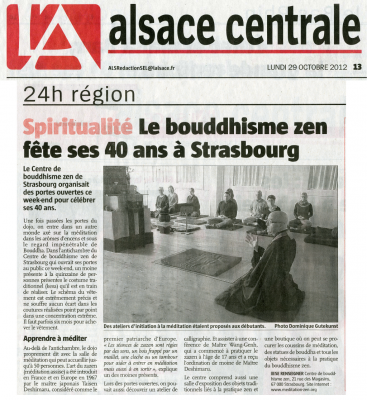 Revue de presse journ es portes ouvertes strasbourg 2012 - Communique de presse portes ouvertes ...