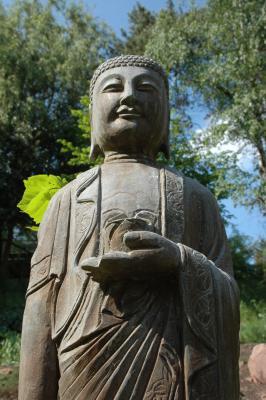 Statue Medizin-Buddha
