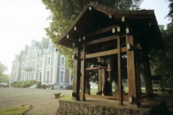 Le bonsho : grande cloche du temple